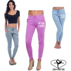 We took a Chonce ultra soft cotton ladies skinny Joggers - sweatpants