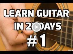 Guitar Lessons for Beginners | Learn Guitar in 21 Days | Course from http://truefire.com/Do you want to learn how to play guitar? This guitar lesson for beginne... #guitars