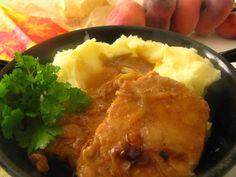 Bravcové rezne nemusia byt len vyprazane a skuste si urobit tieto maslove, su rovnako kaloricke, napratane cholesterolom a rovnako bajecne chutia.  Čas prípravy: 45 min + priprava Počet porc... Mashed Potatoes, Cookies, Chicken, Ethnic Recipes, Kebabs, Ds, Whipped Potatoes, Crack Crackers, Smash Potatoes