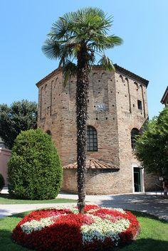 The Neonian Baptistry in Ravenna, Emilia-Romagna, Italy