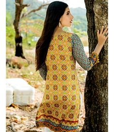 Tanzaib Kurti Shalwar Collection 2016 by Shaista Textiles D_110