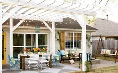 Before and after pics: See what this patio looks after a vibrant DIY makeover - TODAY.com