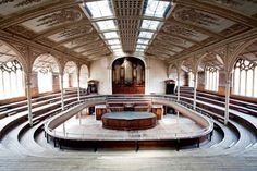 Albert Hall is a forgotten Wesleyan chapel in the centre of Manchester, restored and resurrected as an unrivalled events venue. Edwardian Architecture, Architecture Old, Manchester Uk, Listed Building, Water Tower, Old Buildings, Concert Hall, Wedding Venues, Mansions