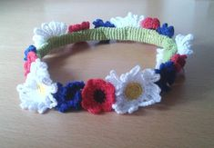 nimm.blogg.se Crochet Flowers, Diy And Crafts, Crochet Necklace, Barbie, Blogg, Knitting, Bracelets, Accessories, Jewelry