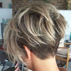70 Kurze Shaggy, Spiky, Edgy Pixie Cuts und Frisuren - - 70 Short Shaggy, Spiky, Edgy Pixie Cuts and Hairstyles Shaggy Pixie Mit Balayage - Mom Haircuts, Pixie Haircuts, Short Stacked Haircuts, Edgy Haircuts, Great Hair, Hairstyles Haircuts, Wedding Hairstyles, Latest Hairstyles, Layered Hairstyles