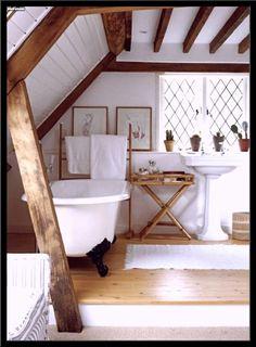 inspirierend badezimmer landhausstil modern