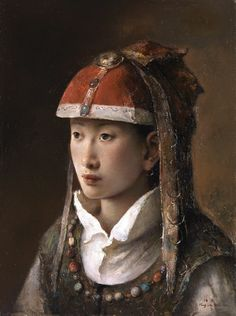tang wei min paintings   Artodyssey: Tang Wei Min - 唐伟民  ~Via Kathleen Gordon-Burke