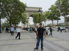 Triumph Arch, Champs Elysees Avenue, Paris