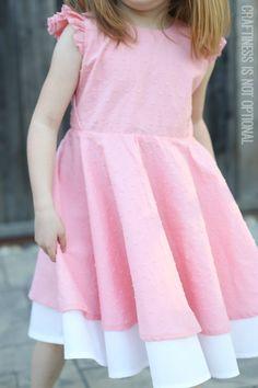 Swiss dot Georgia twirl dress