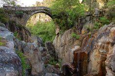 Roman Bridge Misarela, Peneda-Gerês, Portugal