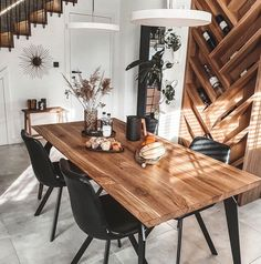 Inspirational ideas about Interior Interior Design and Home Decorating Style for Living Room Bedroom Kitchen and the entire home. Curated selection of home decor products. Dining Room Design, Kitchen Design, Interior Design Career, Scandinavian Style Home, Budget Home Decorating, Diy Decorating, Home Decor Shops, Apartment Design, Home Fashion