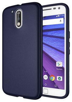 Moto Case, Diztronic Full Matte Slim-Fit Flexible TPU Case for Motorola Moto G? and Moto G? Plus Generation Only) 2016 (Matte Black) Good And Cheap, Dark Navy Blue, Videos, Flexibility, Phone Cases, Iphone, My Favorite Things, Slim, Matte Black
