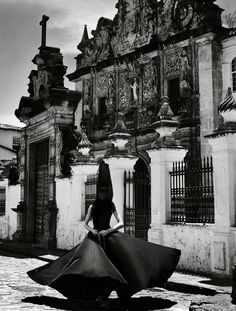 """Full of Grace"": Izabel Goulart as a Baroque Nun by Giampaolo Sgura for Vogue Brazil February 2013"