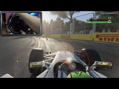 F1 2016 [PS4] with Thrustmaster T300RS [WheelCam] - YouTube