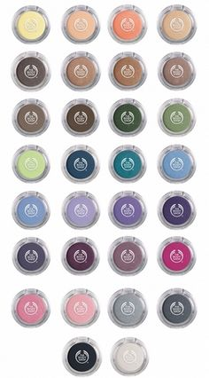 Body Shop Colour Crush Eyeshadows // Think They Have Released A Few More Since But I Adore The Bright, Rich Colours