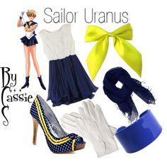 """Sailor Uranus"" by lilcassie7 on Polyvore"
