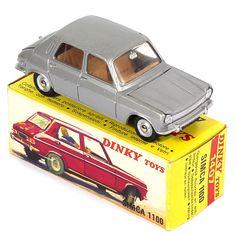 French Dinky 1407 Simca  1100 Pic. By QualityDiecastToys.com