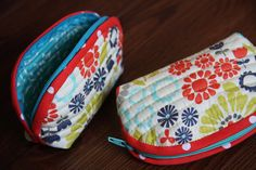 like the rounded edges:  DIY Coin Purse