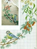 ru / Photo # 4 - aa - and 4 more parts Cross Stitch Pillow, Cross Stitch Tree, Just Cross Stitch, Cross Stitch Bookmarks, Cross Stitch Cards, Cross Stitch Animals, Cross Stitch Flowers, Cross Stitching, Cross Stitch Embroidery