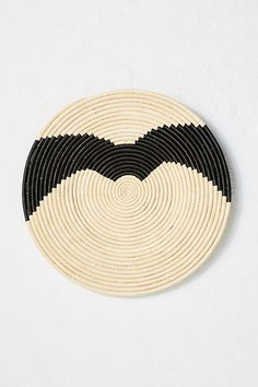 Ugandan Hanging Basket by All Across Africa in Assorted, Wall Decor at Anthropologie Baskets On Wall, Hanging Baskets, White Backdrop, Organic Modern, Natural Linen, Decorative Bowls, Decorative Accents, Hand Weaving, Pure Products