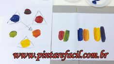 Pintar é fácil- Pintura em Tela - Abstrato - Iniciantes - Aula 10