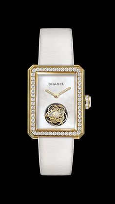 Chanel Première Flying Tourbillon with diamonds & yellow gold Variation H4534