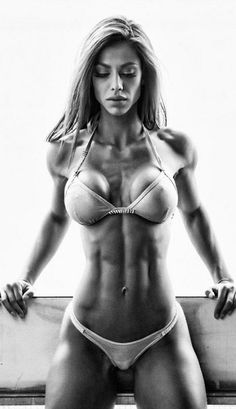 SHREDDED GORGEOUS BODY of Hungarian #Fitness model Petra Szabo : if you LOVE Health, Workouts & #Inspirational Body Goals - you'll LOVE the #Motivational designs at CageCult Fashion: http://cagecult.com/mma