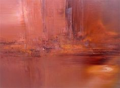 """""""Higher Love"""" 30 x 40 inches, oil on canvas - Reds - #WillDayArt in Boulder, CO"""