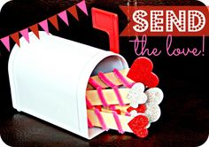 Sending the Love, a great Valentines Family Night Idea