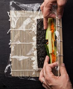 Inside-Out Vegetable Maki - Chowhound