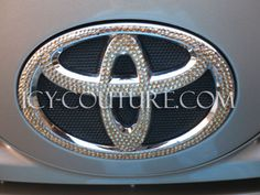 TOYOTA Car Bling Emblem with Swarovski crystals by IcyCouture on Etsy https://www.etsy.com/listing/196067200/toyota-car-bling-emblem-with-swarovski