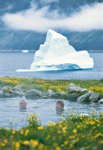 Uunartoq, De varme kilder i Sydgrønland