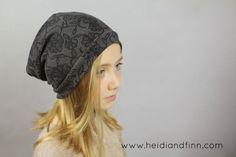 HeidiandFinn modern wears for kids: Slouchy Beanie hat - FREE pattern for kids clothes week