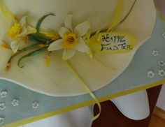 Cold Porcelain Daffodils By Fifi-s_Cakes on CakeCentral.com