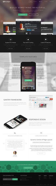 RocketTheme - Paradigm WordPress Theme