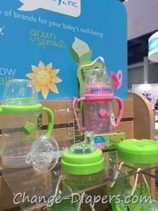 Green Sprouts glass sippy cups at ABC Kids 2016
