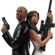 Custom Cake Toppers!  Because we're awesome like that!