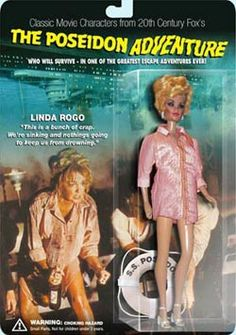 The Poseidon Adventure Action Figures by Hell in a Handbag Productions, via Flickr