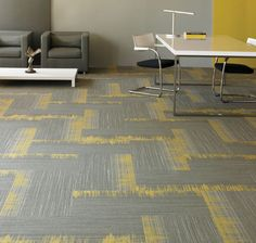 Shaw Contract Group offers a multitude of recycled-content carpet tiles.