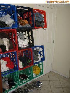 1000 Images About Milk Crate Ideas On Pinterest Milk