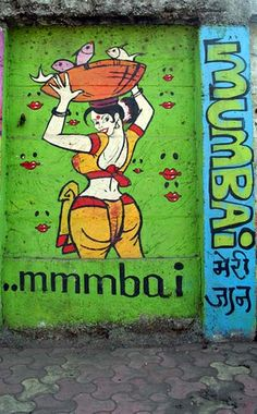 Walls of Mumbai - Graffiti   Flickr - Photo Sharing!
