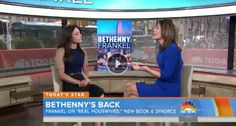"Bethenny Frankel talks RHONY and her new book, ""I Suck At Relationships So You Don't Have To"" on the Today Show with Kathie Lee and Hoda."