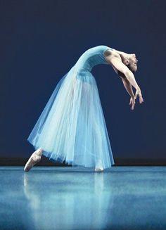 And, something magical...Stephanie Hutchison in Serenade, photo by Cylla von Tiedemann.