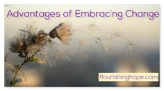 Advantages of Embracing Change