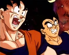 """Vegeta, the fangirls are back!"""