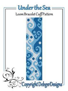 Under the Sea  - Loom Bracelet Cuff Pattern