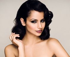Nazanin Mandi WOW! The ultimate combo-pack! Persian, Spanish, Mexican, and Native American.