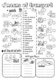 transportation multiple choice b w worksheet transportation theme pinterest multiple. Black Bedroom Furniture Sets. Home Design Ideas