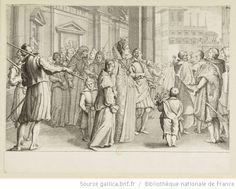 [La vie de Ferdinand Ier de Médicis]. [2], [La grande duchesse marie des jeunes filles] : [estampe] / [Jacques Callot sculp.] ; [Matteo Roselli inv.] - 1
