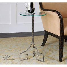 Uttermost Grecia Iron Accent Table 24367